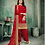 Thumbnail: New stylish Red heavy Patiyala Suit Collection with Gota Patti work