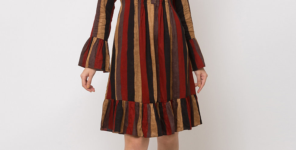 Pretty Style Designer Readymade one Piece Tunic & Kurti, Maroon
