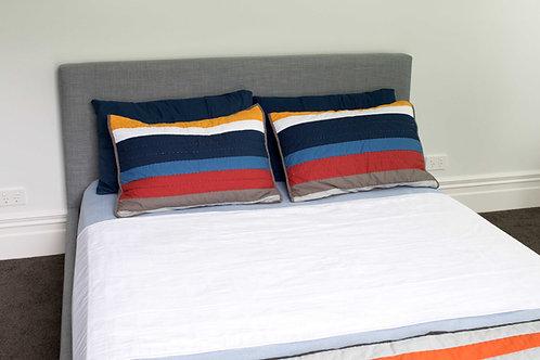 מגן מזרון למיטה זוגית קינג - ברוֹלִי - מארז זוגי