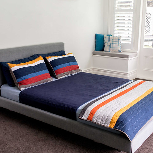מגן מזרון למיטה זוגית קווין - ברוֹלִי - מארז זוגי