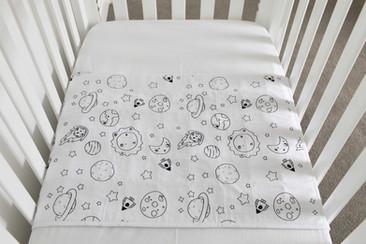 ברולי למיטת תינוק - מאוייר גלקסיה
