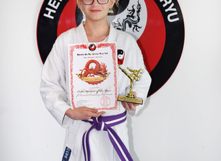 Rhiannon Johnson colt student of the year 2018