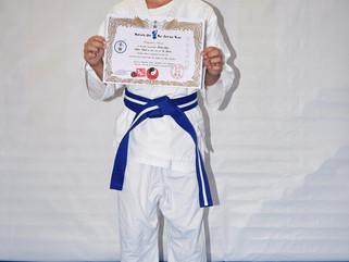 Congratulations to Braydon Moore on grading to Blue Belt in Te Jutsu