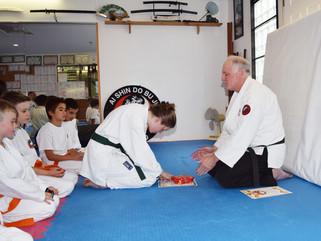 Congratulations to Brooke Proffit-Crean who graded to blue belt in Te Jutsu