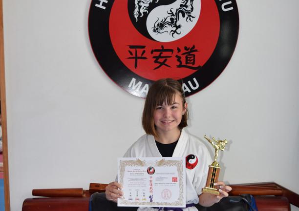 Kiri-Anne van Cingel Colt Student of the Year 2019