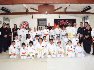 End of Year Prizegiving hosted at Papatoetoe ASDNZ dojo