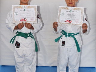 Joy and Jewel Singh grade to green