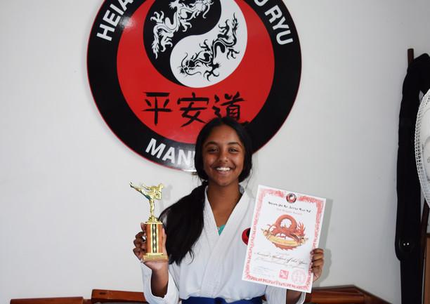 Ashna Narayan Senior Student of the Year 2019