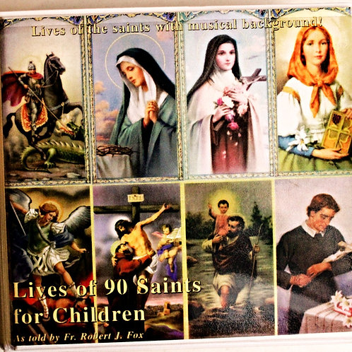 99 Lives of the Saints CD collection