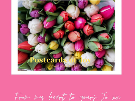 Sent with Love! Postcards of Joy - From My Heart to Yours - March's Stories to Lift the Soul