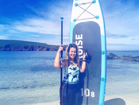 A Conversation with Emily Hague - Killer Whale Trail, RNLI Crew, SUP Shetland + Grateful for The Sea