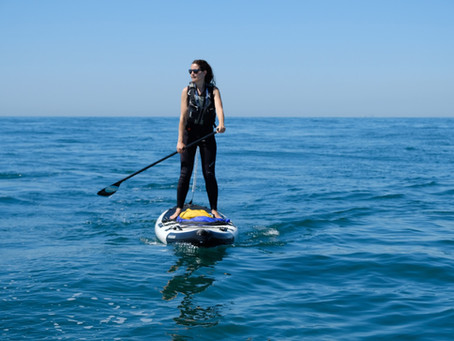 A Conversation with Michelle Ellison - SUP The Thames + Channel, Citizen Science + Wild Business