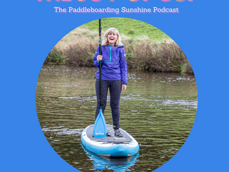 And we are live! The Joy of SUP Podcast Trailer!