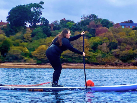 A Conversation with Sarah Blues - Joy of Movement, #PaddleKitHerWay, Her Race Club + Being Braver