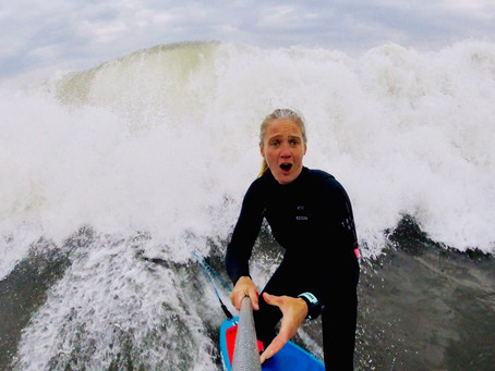 A Conversation with Heather Peacock - SUP Surfer, Juggling Motherhood + Work, Maui 2007 + Smoothies