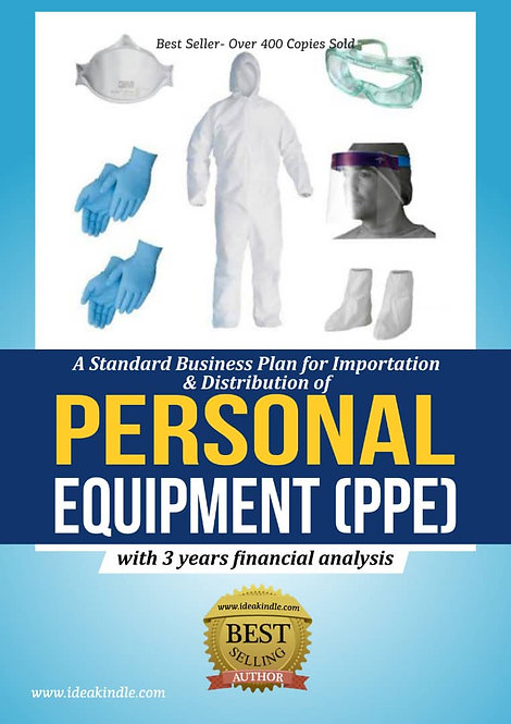 Personal Equipment (PPE) Business Plan