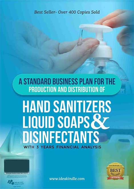 Hand Sanitizer and Liquid Soap Business Plan