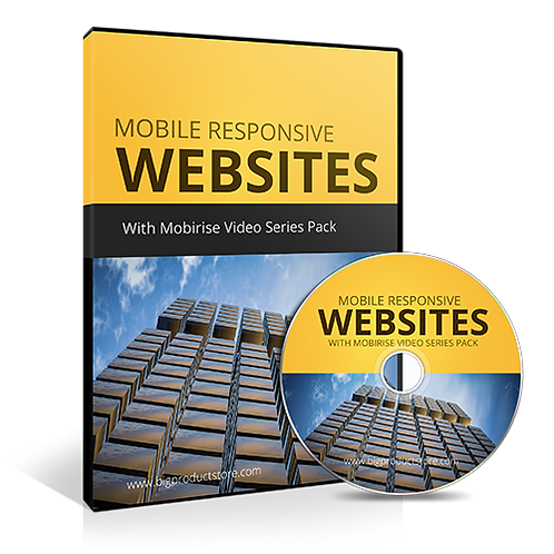 Mobile Responsive Websites With Mobirise Video Series Pack
