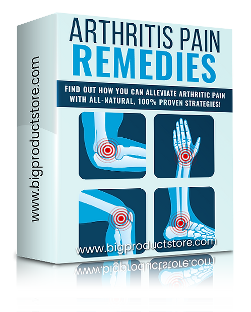 Arthritis Pain Remedies PLR Pack