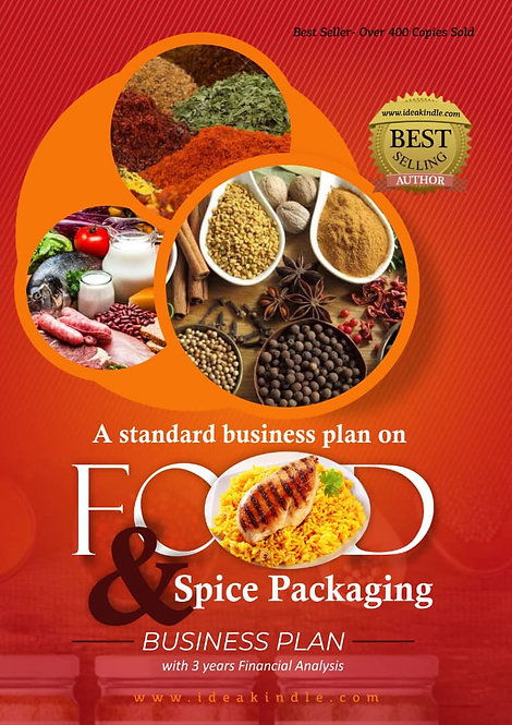 Food & Spice Packaging Business Plan