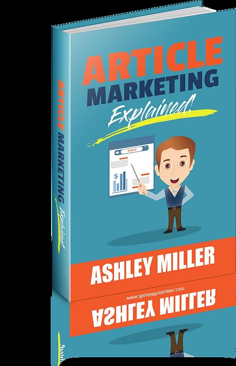 Article Marketing Explained