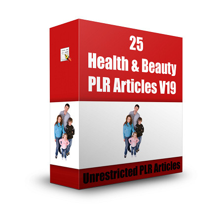 25 Health & Beauty Articles V 19