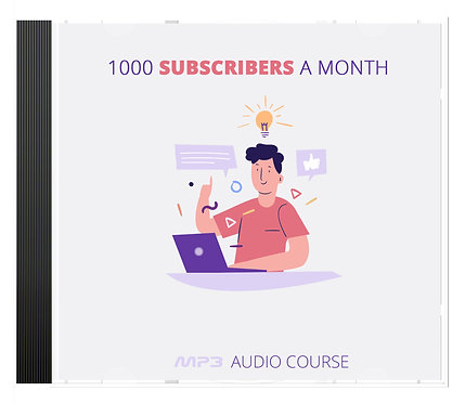 1000 Subscribers A Month Audio Pack