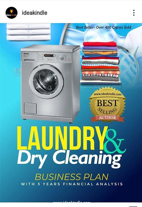 Laundry & Dry Cleaning Business Plan