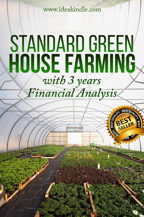 Standard Green House Farming Business Plan