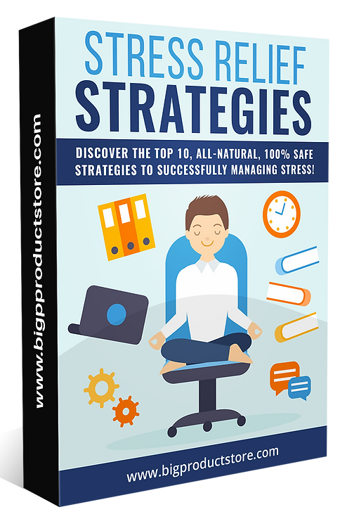 Stress Relief Strategies Pack