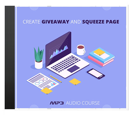 Create Giveaway And SqueezePage Audio Pack