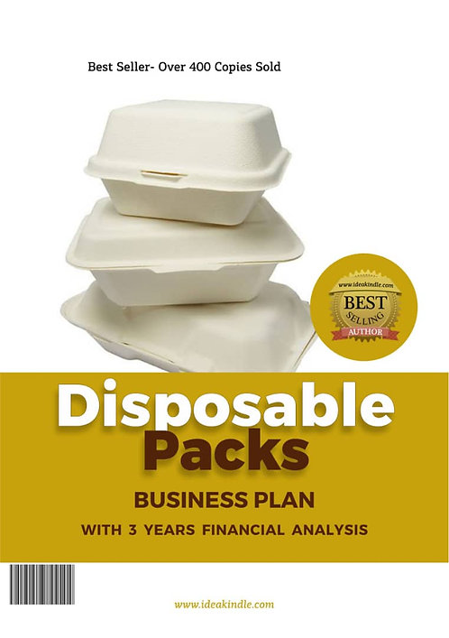 Disposable packs Business Plan