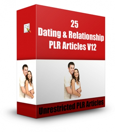 25 Dating And Relationship PLR Articles V 12