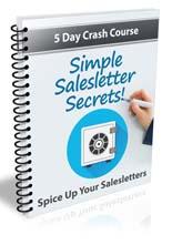 Simple Sales Letter Secrets eCourse