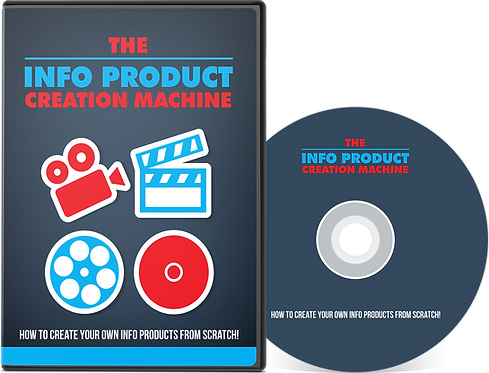 Info Product Creation Machine Video Series Pack
