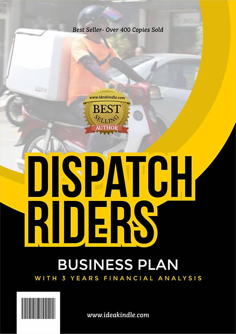 Dispatch riders business plan