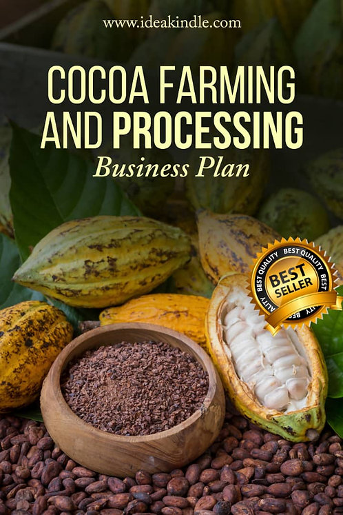 Cocoa Farming and Processing Business Plan