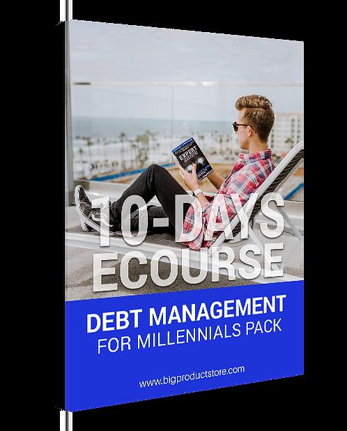 10-Day ECourse Debt Management for Millennials Pack