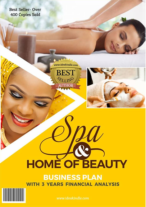 Spa and Home of Beauty Business Plan