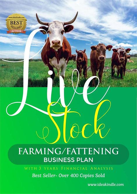 Live Stock Farming/Fattening Business Plan