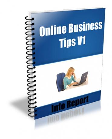 Online Business Tips V1 to V4 Package