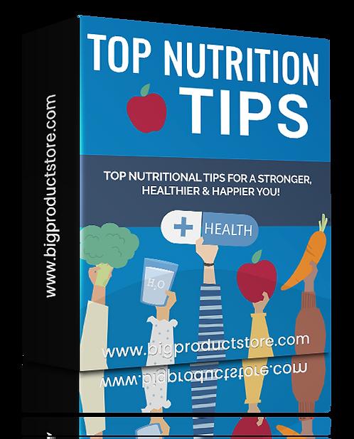 Top Nutrtion Tips