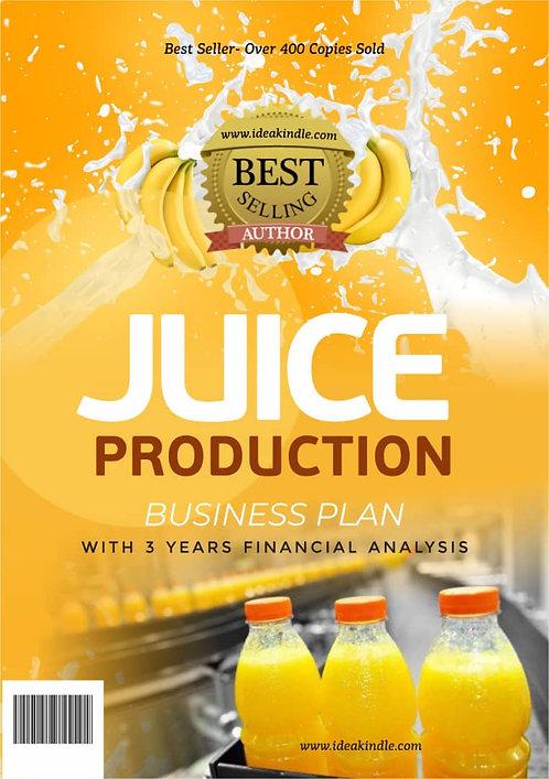 Juice Production Business Plan