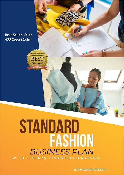 Standard Fashion Business Plan