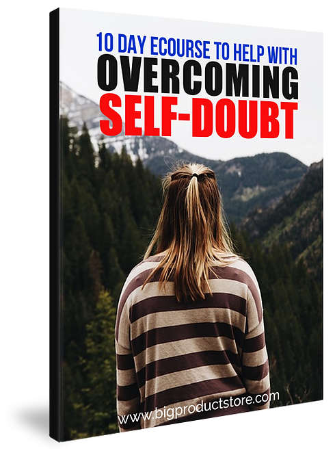 10-Day eCourse To Help With Overcoming Self-Doubt Pack