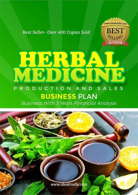 Herbal Medicine Business Plan