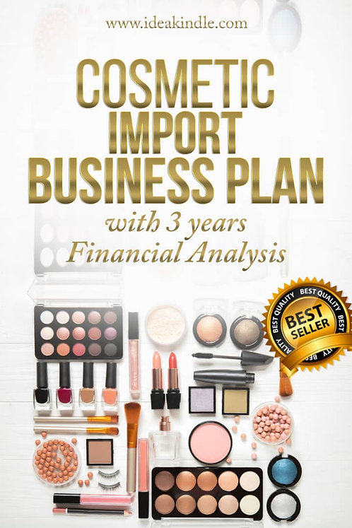 Cosmetic Import Business Plan