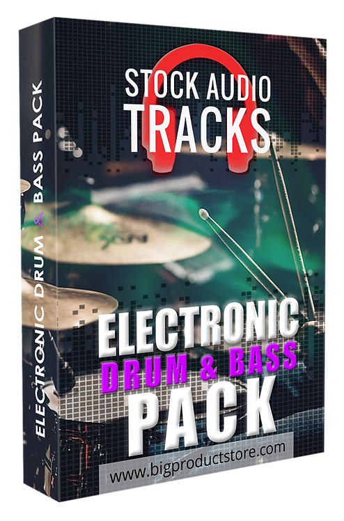 Electronic Drum & Bass Stock Audio Tracks Pack