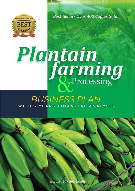 Plantain Farming and Processing Business Plan
