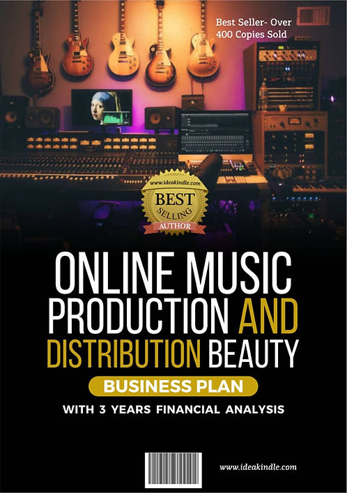 Online Music Production & Distribution Beauty